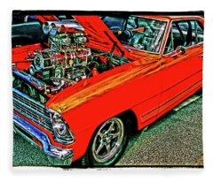 Classic Chevy Fleece Blanket