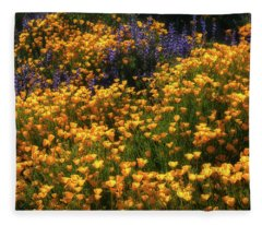 Color Explosion Fleece Blanket