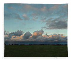 Colossal Country Clouds Fleece Blanket
