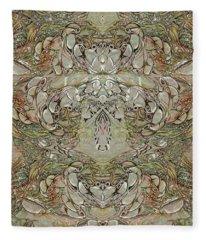 Desert Wall Fleece Blanket