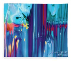 Drenched Fleece Blanket