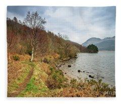Ennerdale Water, English Lake District Fleece Blanket
