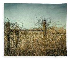 Faded Beauty Fleece Blanket