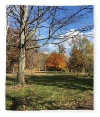 Fall Season  Fleece Blanket
