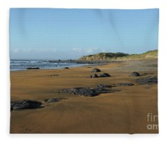 Fanore Beach Fleece Blanket