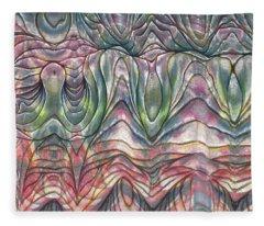 Folds Fleece Blanket