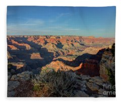 Grand Canyon National Park Spring Sunset Fleece Blanket