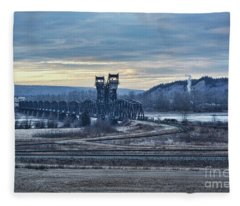 Grand Trunk Pacific Railway Fleece Blanket