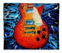 Guitar Slinger Fleece Blanket