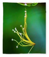 Hanging By A Thread Fleece Blanket