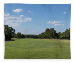 Hole #1 Fleece Blanket
