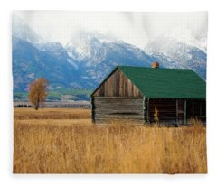 Home On The Range Fleece Blanket