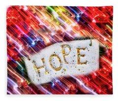 Hope Fleece Blanket