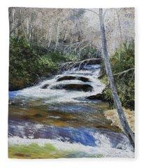 Horsepasture River Fleece Blanket
