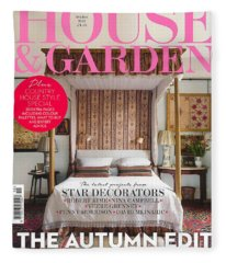 House And Garden Fleece Blanket