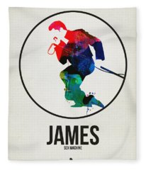 James Brown Fleece Blanket