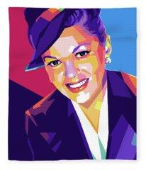 Judy Garland Fleece Blanket