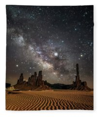 Jupiter's Staircase Fleece Blanket