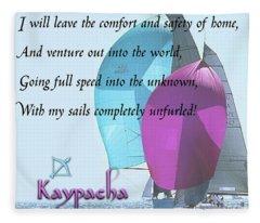 Kaypacha - December 12, 2018 Fleece Blanket