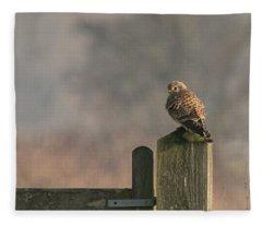 Kestrel Fleece Blanket