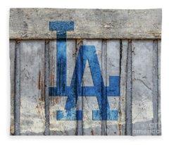 La Dodgers Fleece Blanket