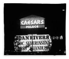 Las Vegas 1984 Bw #10 Fleece Blanket
