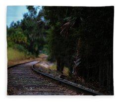 Leading Lines Fleece Blanket