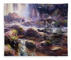 Living Water Fleece Blanket