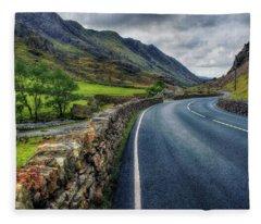 Llanberis Pass  Fleece Blanket