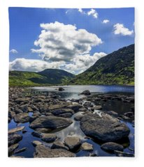 Llyn Eigiau Fleece Blanket