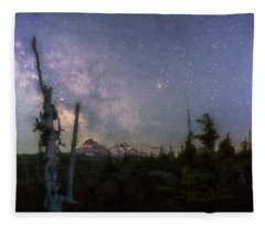 Mckenzie Pass Milky Way Fleece Blanket