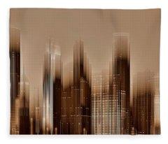 Minneapolis 2 Fleece Blanket
