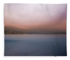 Misty Afternoon Fleece Blanket