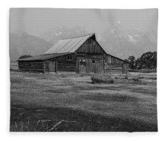Mormon Barn Fleece Blanket