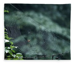 My Web Fleece Blanket
