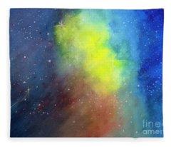 Nebula Creation Fleece Blanket
