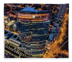 Northwestern Mutual Tower Fleece Blanket