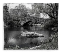 Park Bridge Fleece Blanket