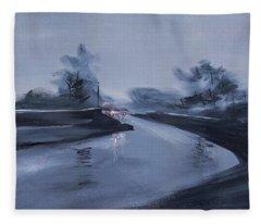 Rainy Day New Fleece Blanket