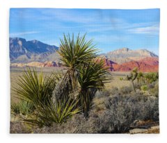 Red Rock Canyon National Conservation Area Fleece Blanket