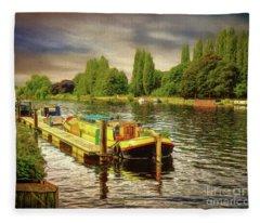 River Work Fleece Blanket