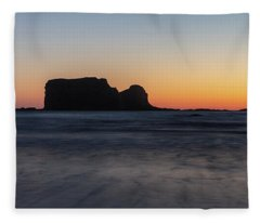 Second Beach Fleece Blanket