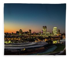 Summerfest Sunset Fleece Blanket