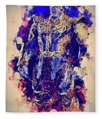Thanos Watercolor Fleece Blanket