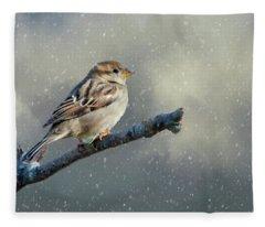 The First Snow Fleece Blanket