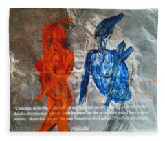 The Immolation Fleece Blanket