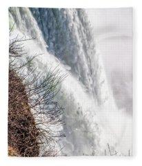 The Mighty Niagara Falls Fleece Blanket