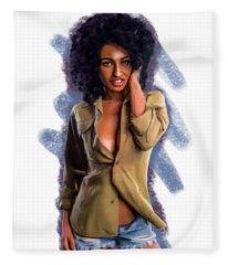 Toni Fleece Blanket