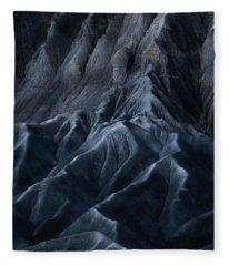 Utah Moonscape Fleece Blanket