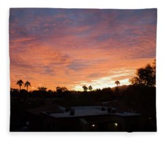 West Coast Vibe Fleece Blanket